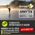 "Armytek at ""Toronto Sportsmen's Show"""