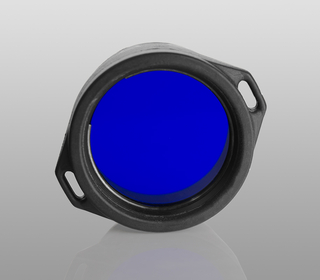 Blue filter for Armytek flashlights