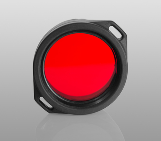 Red filter for Armytek flashlights